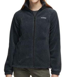 Grey Columbia fleece zip up